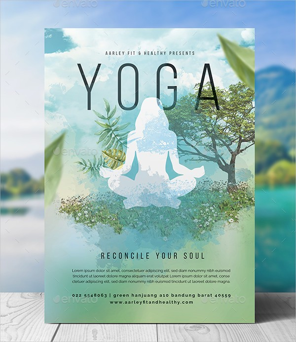 yoga flyer templates free download  29+ Latest Yoga Flyer Templates - Free & Premium Download - yoga flyer templates free download