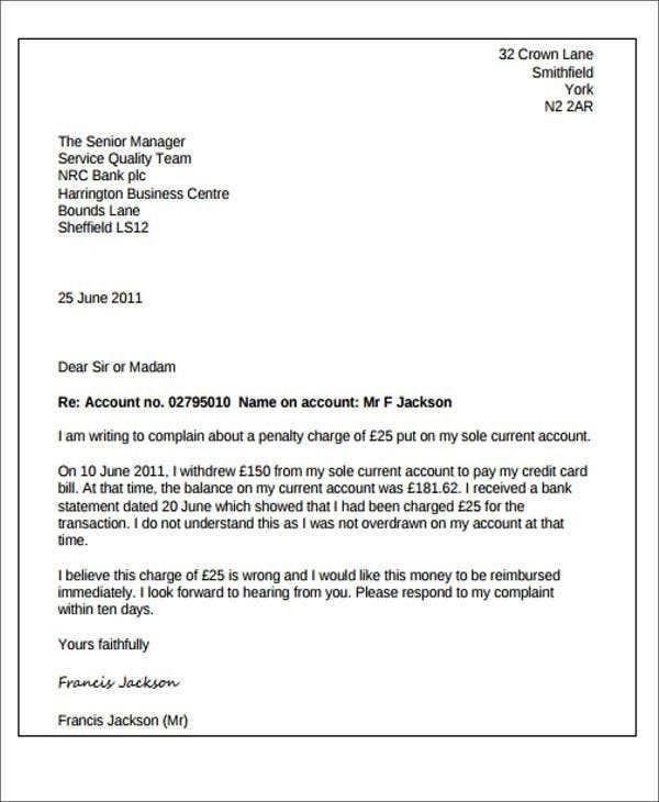 sample request letter for upgrade bank account  Bank Letter Templates - 13+ Free Sample, Example Format ..
