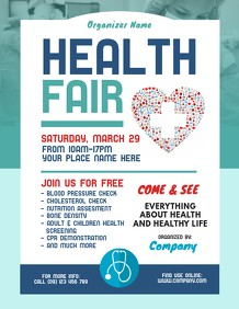 health fair flyer template free download  Customize 4,730+ Health Templates | PosterMyWall - health fair flyer template free download