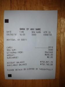 fake bank statement generator  Fake ATM Terminal Receipts | ATM Receipts with Huge Balances - fake bank statement generator