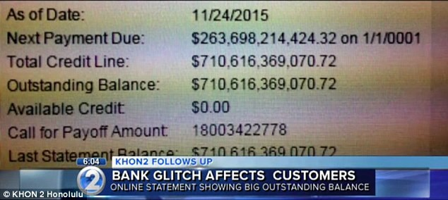 bank statement rich  First Hawaiian Bank mistakenly tells customers they are ..