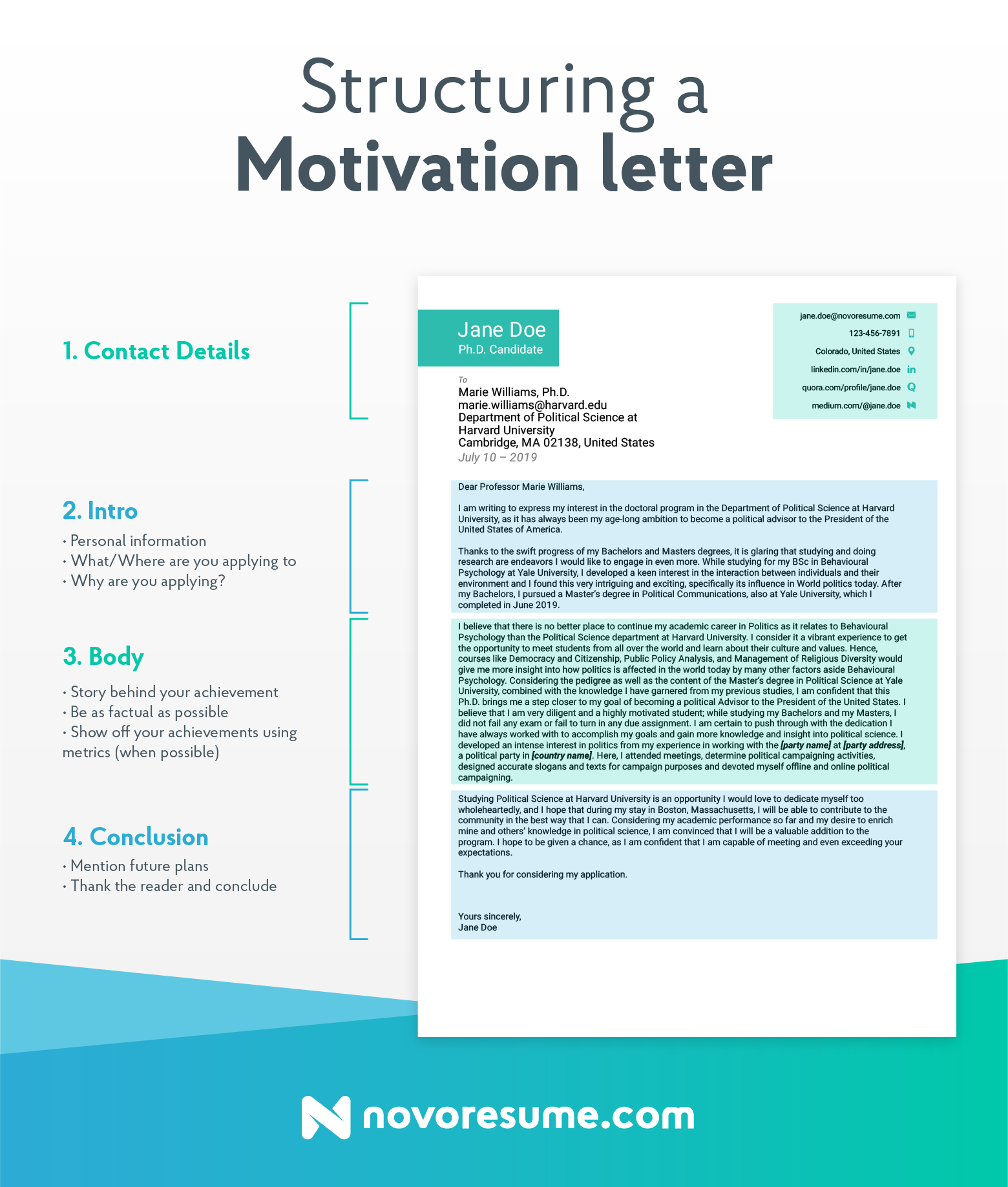 motivation letter 2020  How to Write a Motivational Letter (and Get Accepted ..