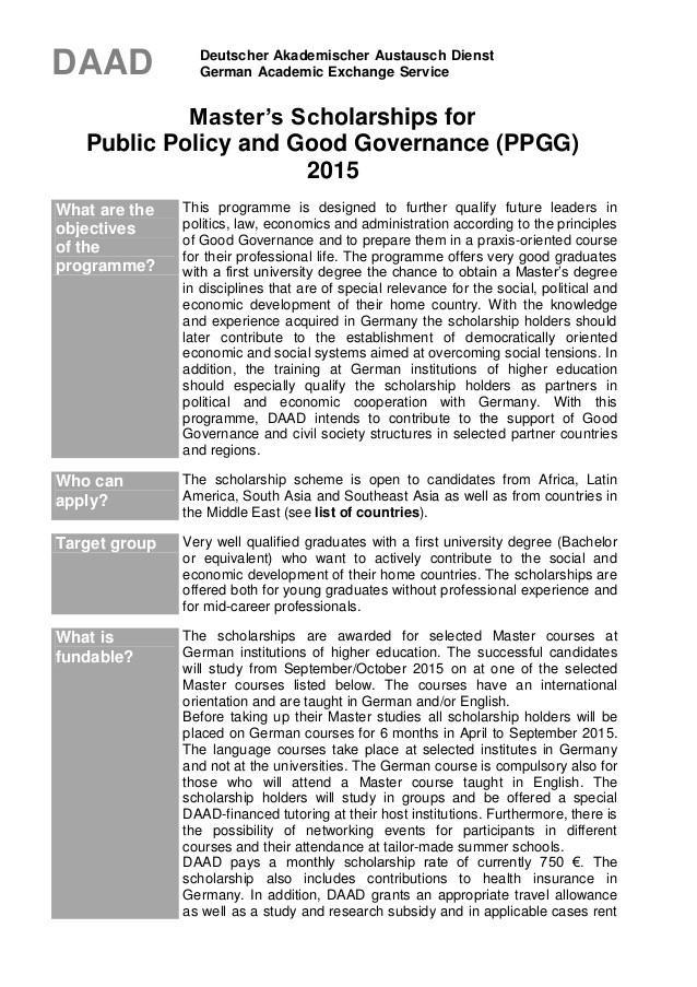 motivation letter sample for german university  Ppgg announcement 2015 - motivation letter sample for german university
