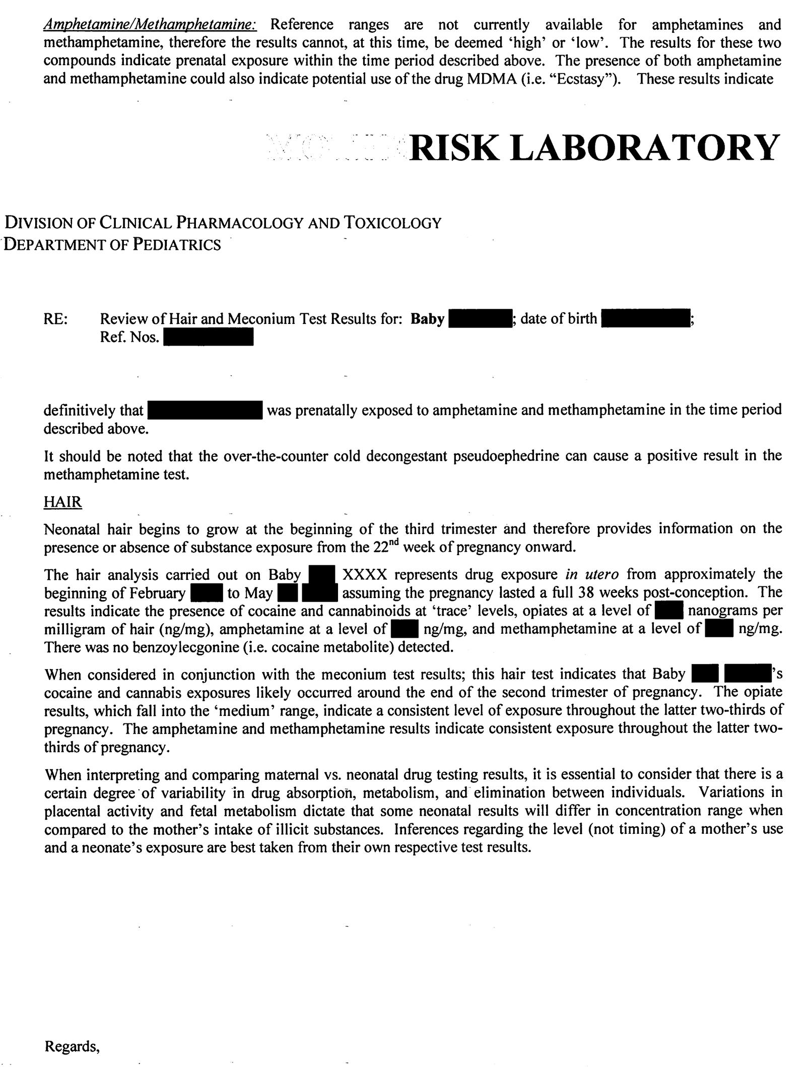 sample request letter for laboratory analysis  Rapport de l'examen indépendant du programme d'analyse ..