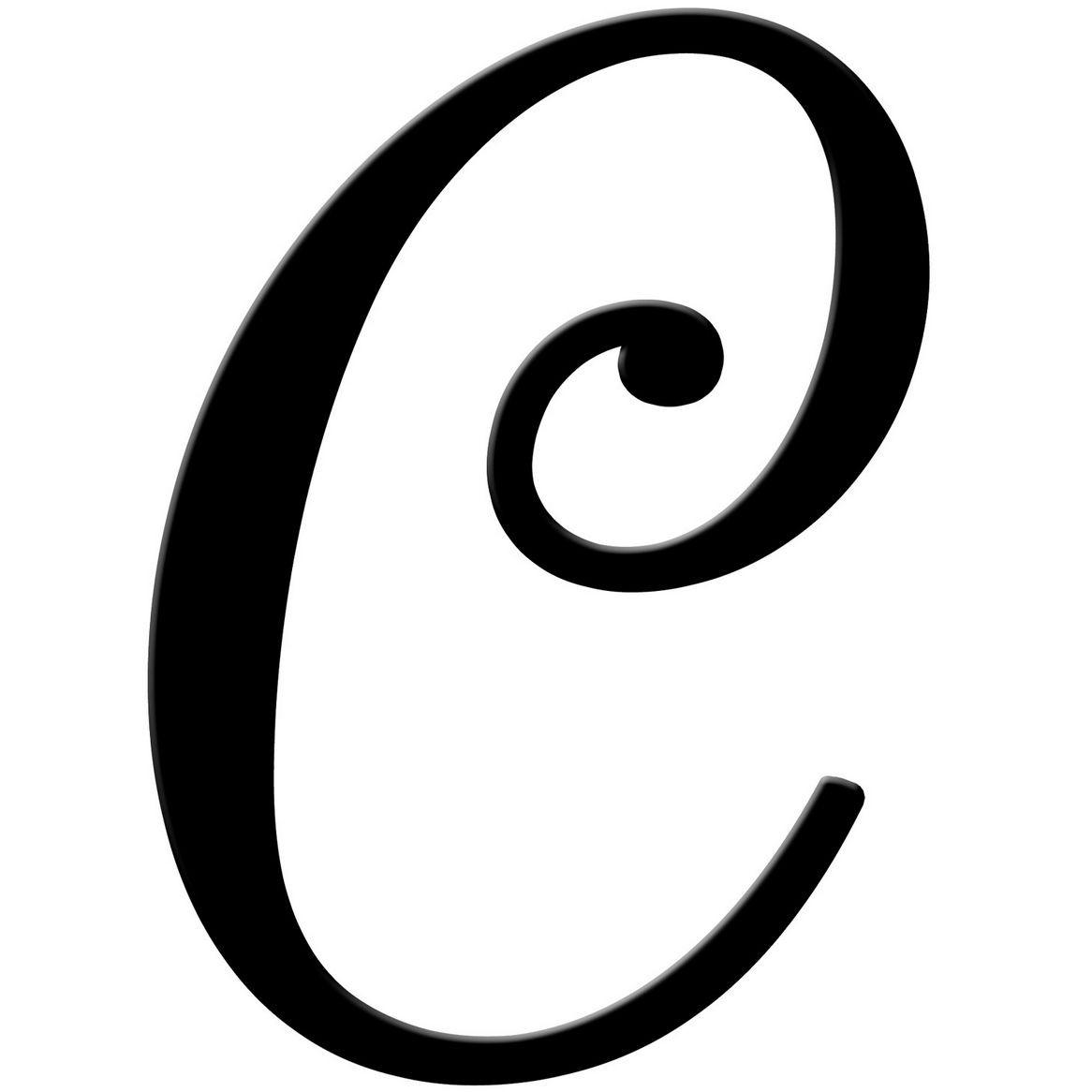 fancy letter c template  Resume Format: Letter C Fancy - fancy letter c template