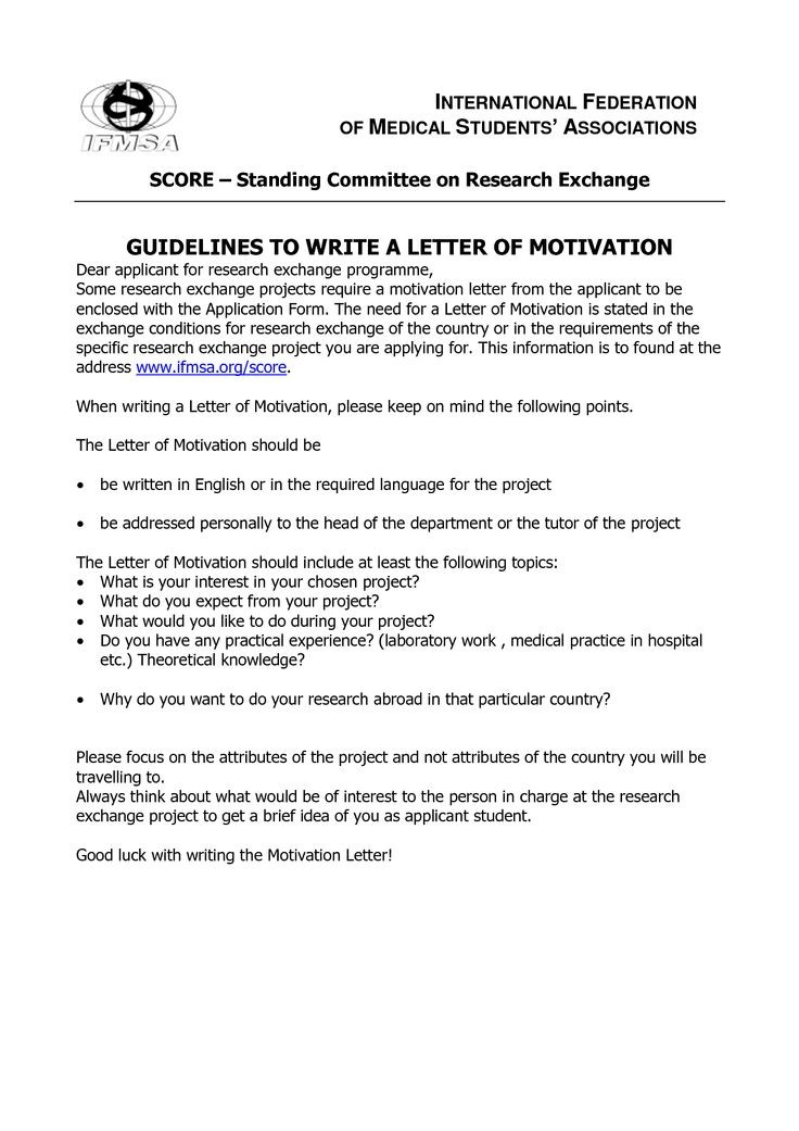 motivation letter sample for university pdf  Student Motivation Letter Bond Cleaning Melbourne ..
