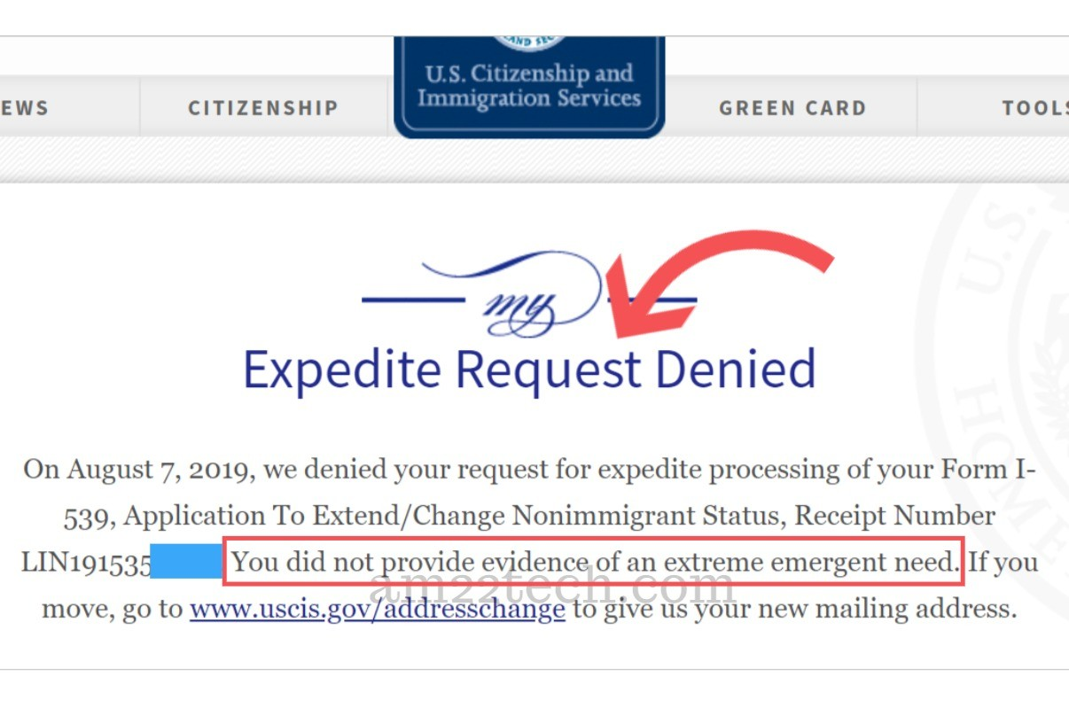 sample request letter for expedited processing  USCIS Denying EAD Expedite Request - Did Not Provide ..