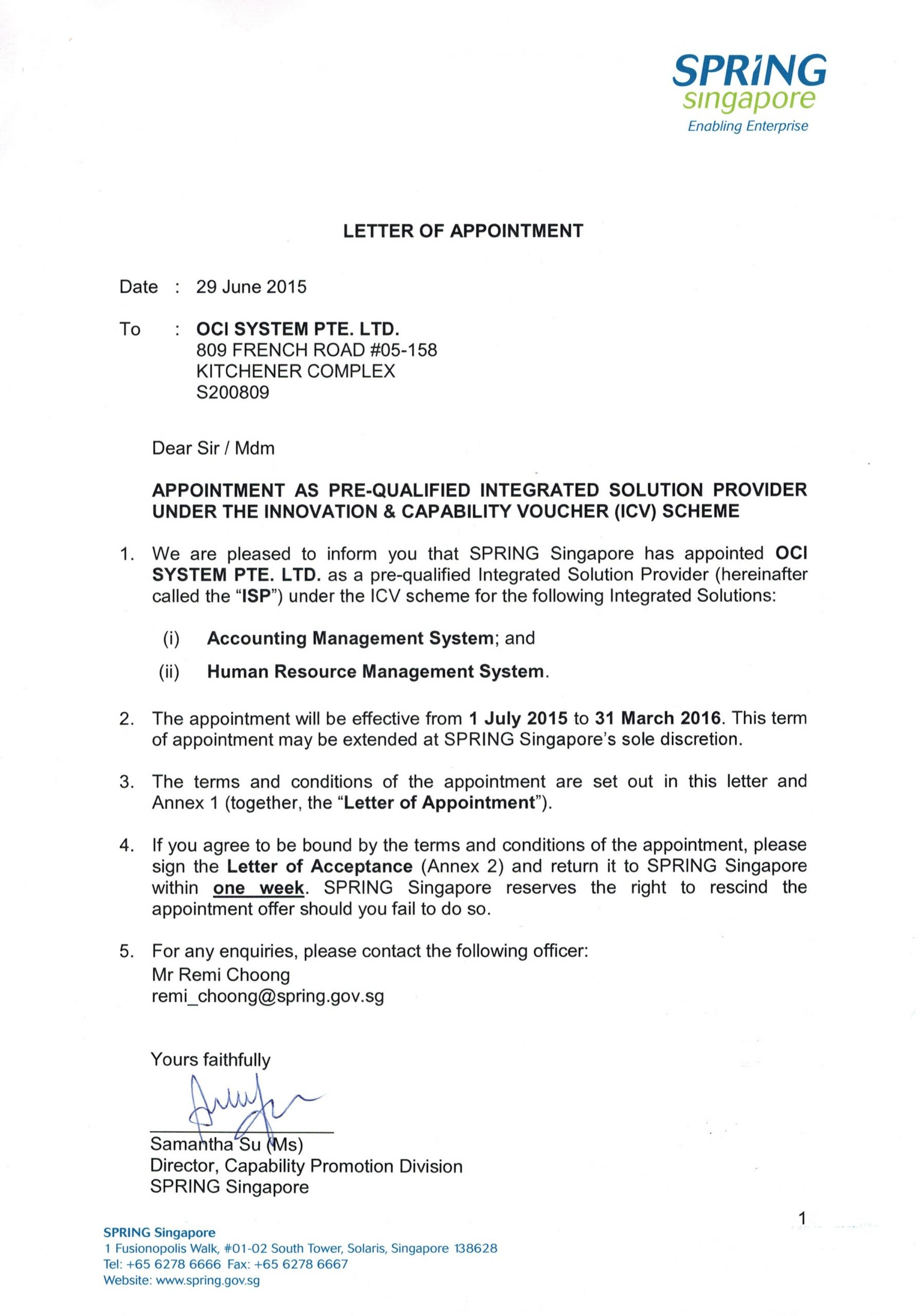 16.1 appointment letter template  16.1 appointment letter template word – DlWord - 16