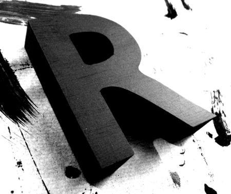 3d letter r template  3D Letters | 3D Letters - 3d letter r template