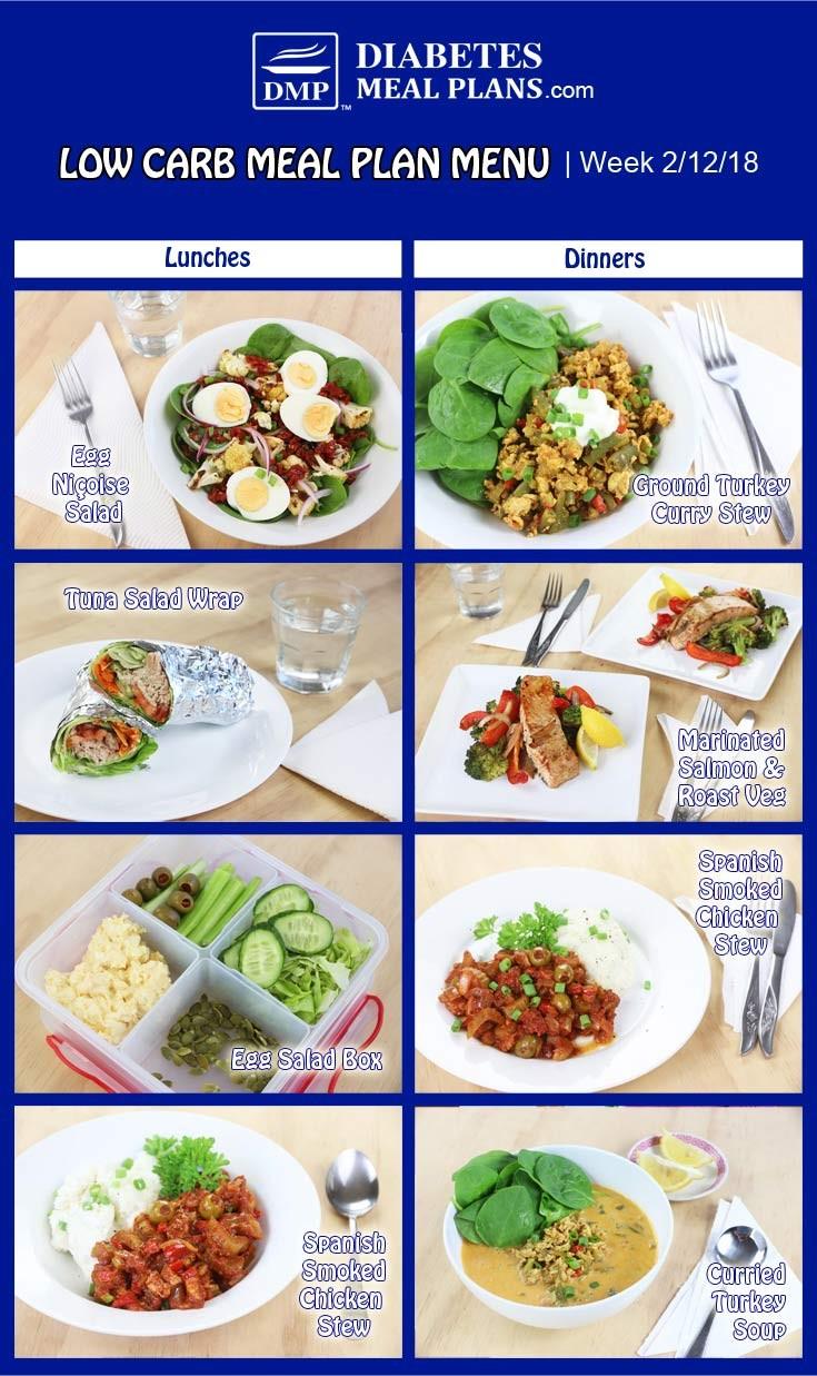 meal plan for diabetics  Diabetic Meal Plan: Week of 2/12/18 - meal plan for diabetics
