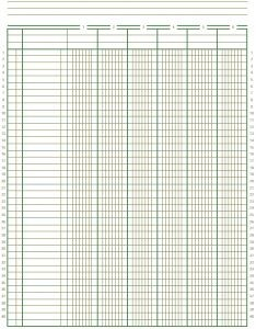 2 column budget template  Free Accounting Ledger Paper | Printable graph paper ..