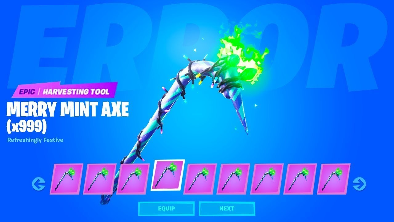3 free fortnite codes  How to Get FREE UNLIMITED MERRY MINT PICKAXE CODES ..