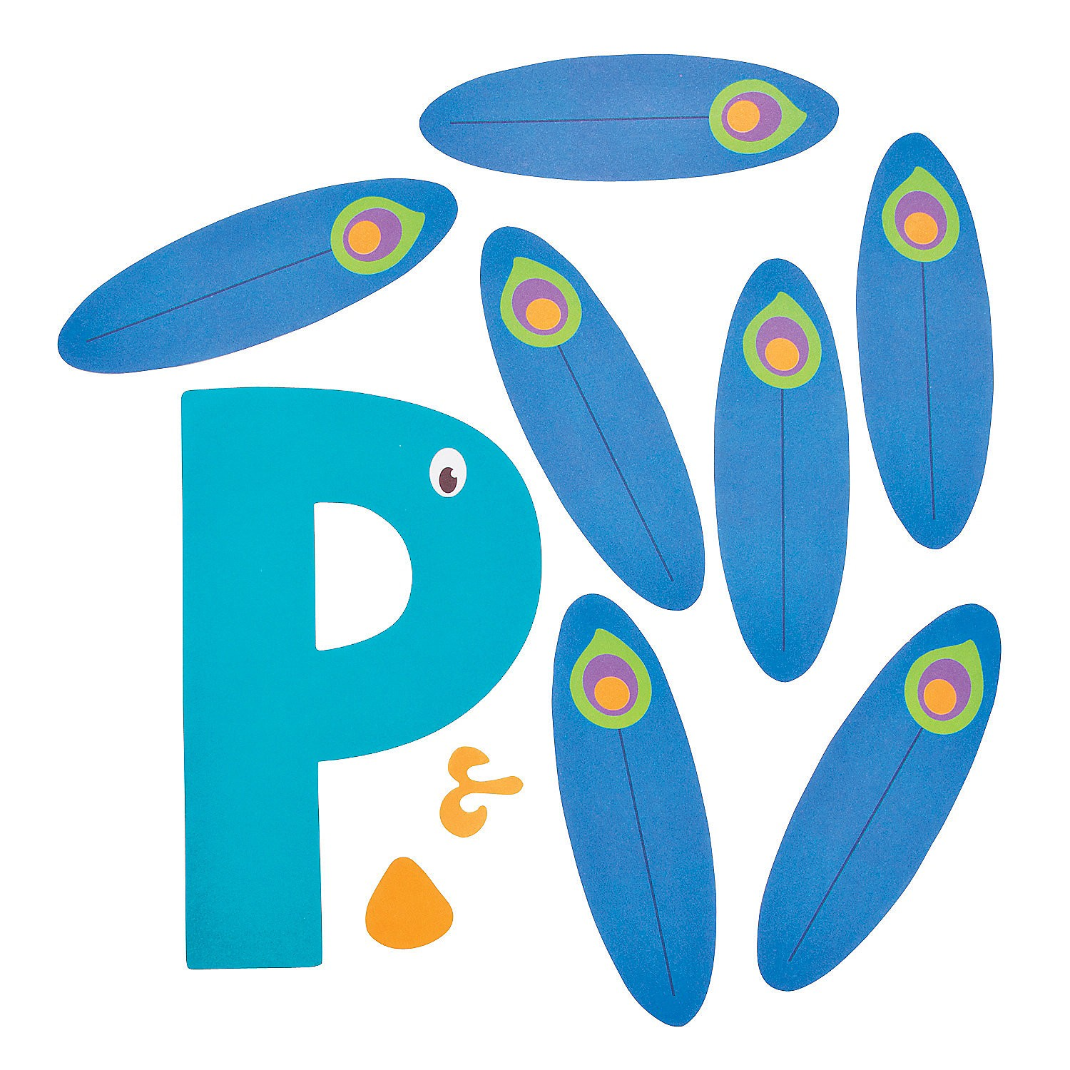 letter p craft template  Letter P Crafts İdeas for Preschool - Preschool and ..