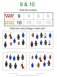 x free worksheets  Ninjago Number Worksheets - x free worksheets