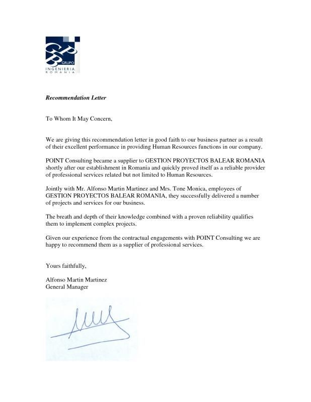 2 letters of recommendation  Professional Letter Of Recommendation   Letter of ..
