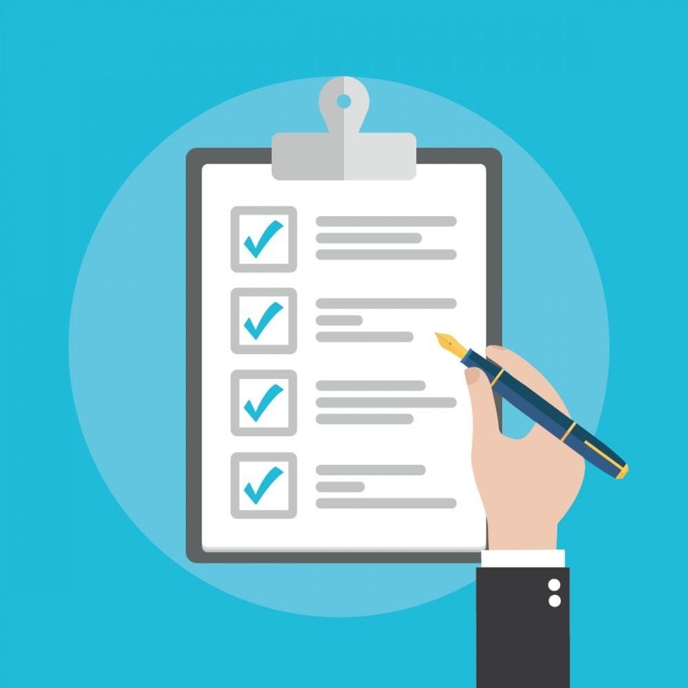 task list checklist template  To Do List (dans votre back office) - PrestaShop Addons - task list checklist template