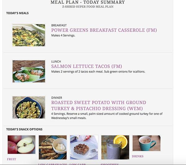 z-shred superfood meal plan pdf  Z-Shred Super Food Meal Plan | Zuzka Light - z-shred superfood meal plan pdf