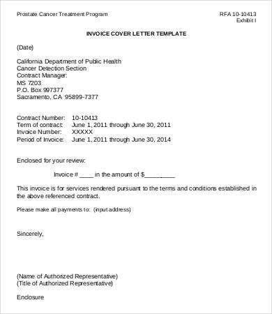 invoice template letter  26+ Sample Invoice Templates - DOC, PDF   Free & Premium ..