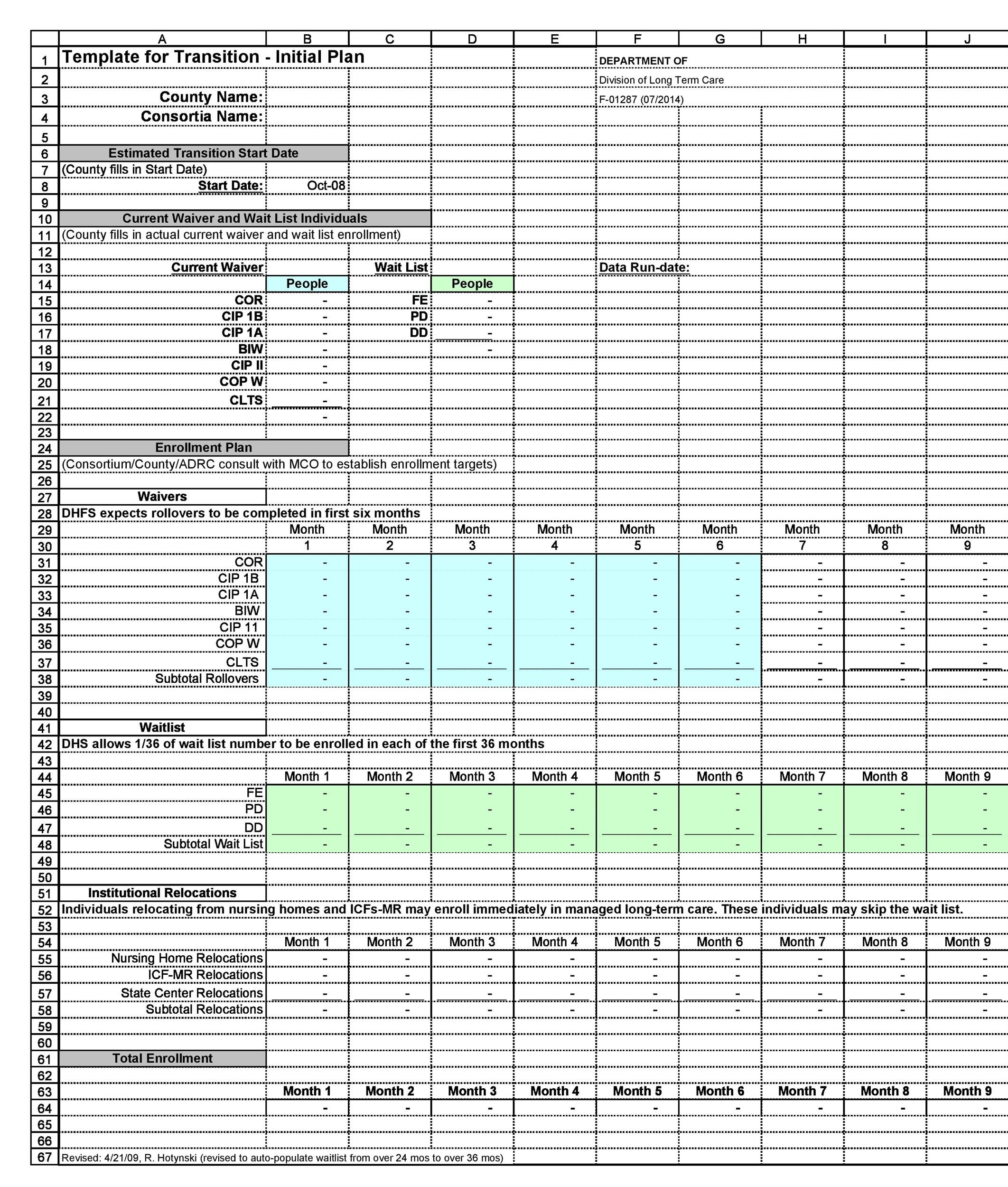 transition plan template leaving job  40+ Transition Plan Templates (Career, Individual) ᐅ ..