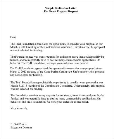 grant request letter examples  43+ Sample Proposal Letters - Word, PDF - grant request letter examples