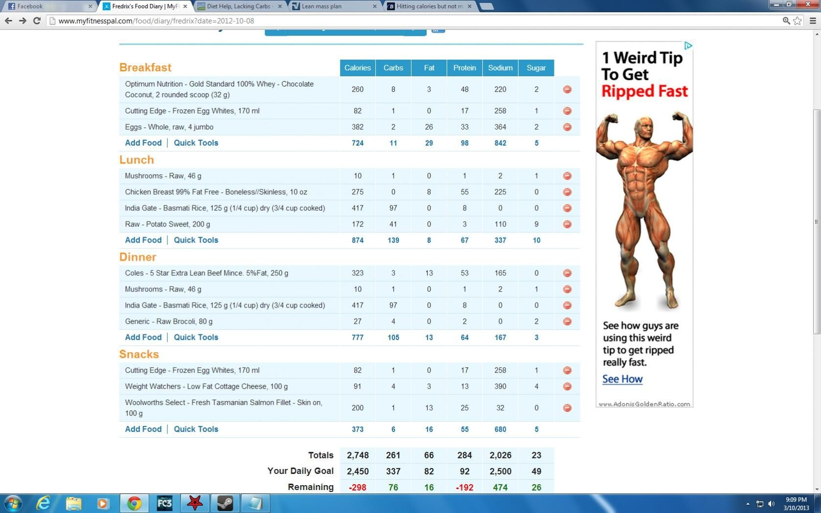 diet plan lean body  diet plan to build lean muscle mass | Watches | Pinterest ..