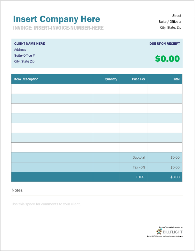 invoice template maker  Free Invoice Maker That Allows You To Create An Invoice ..