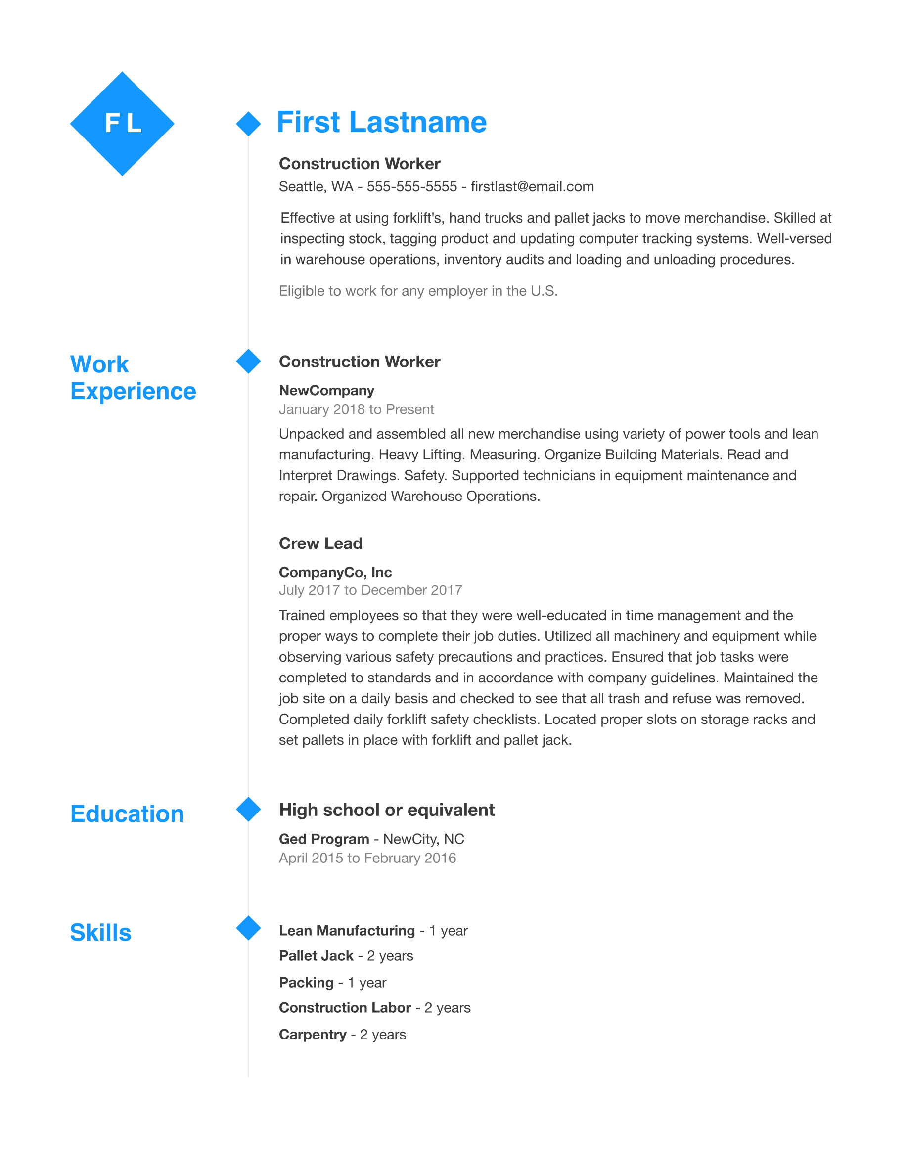 resume template indeed  Free Professional Resume Templates | Indeed.com | Indeed