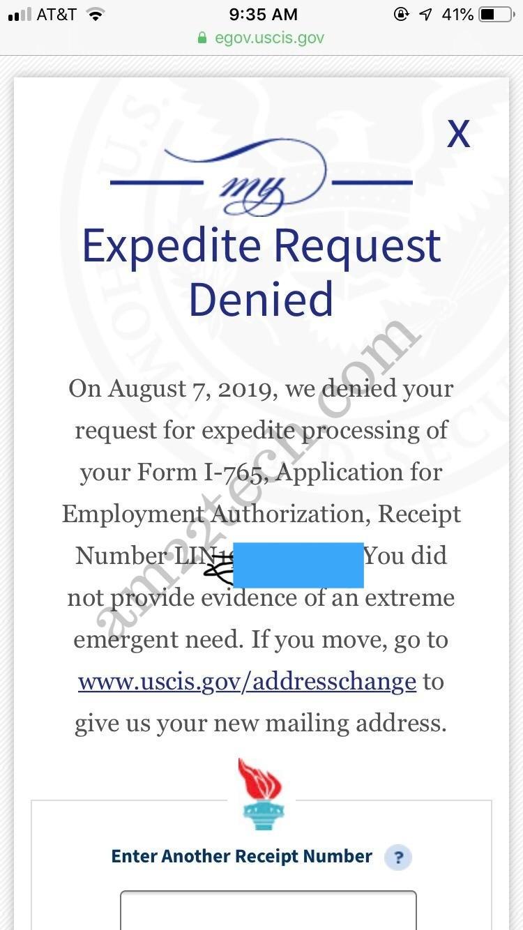 expedite request letter uscis  Uscis Expedite Letter Sample | Letter Template - expedite request letter uscis