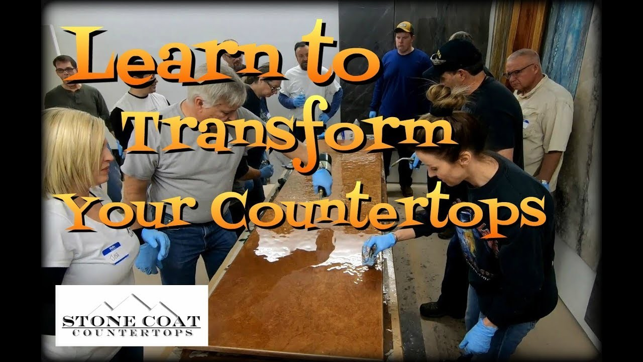 epoxy countertop training classes  Learn to Transform Your Countertops Epoxy Training Class ..