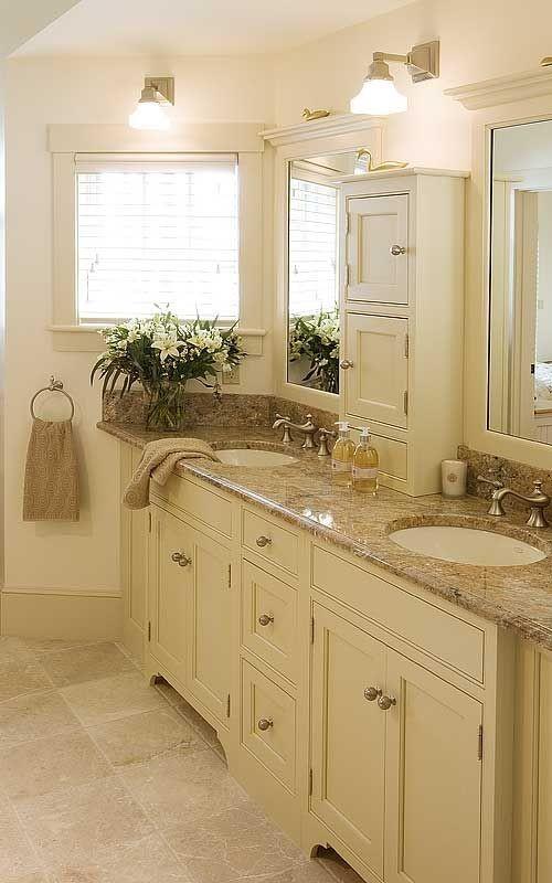 countertop bathroom tower cabinet  25+ Most Stunning Bathroom Counter Storage Tower Designs ..
