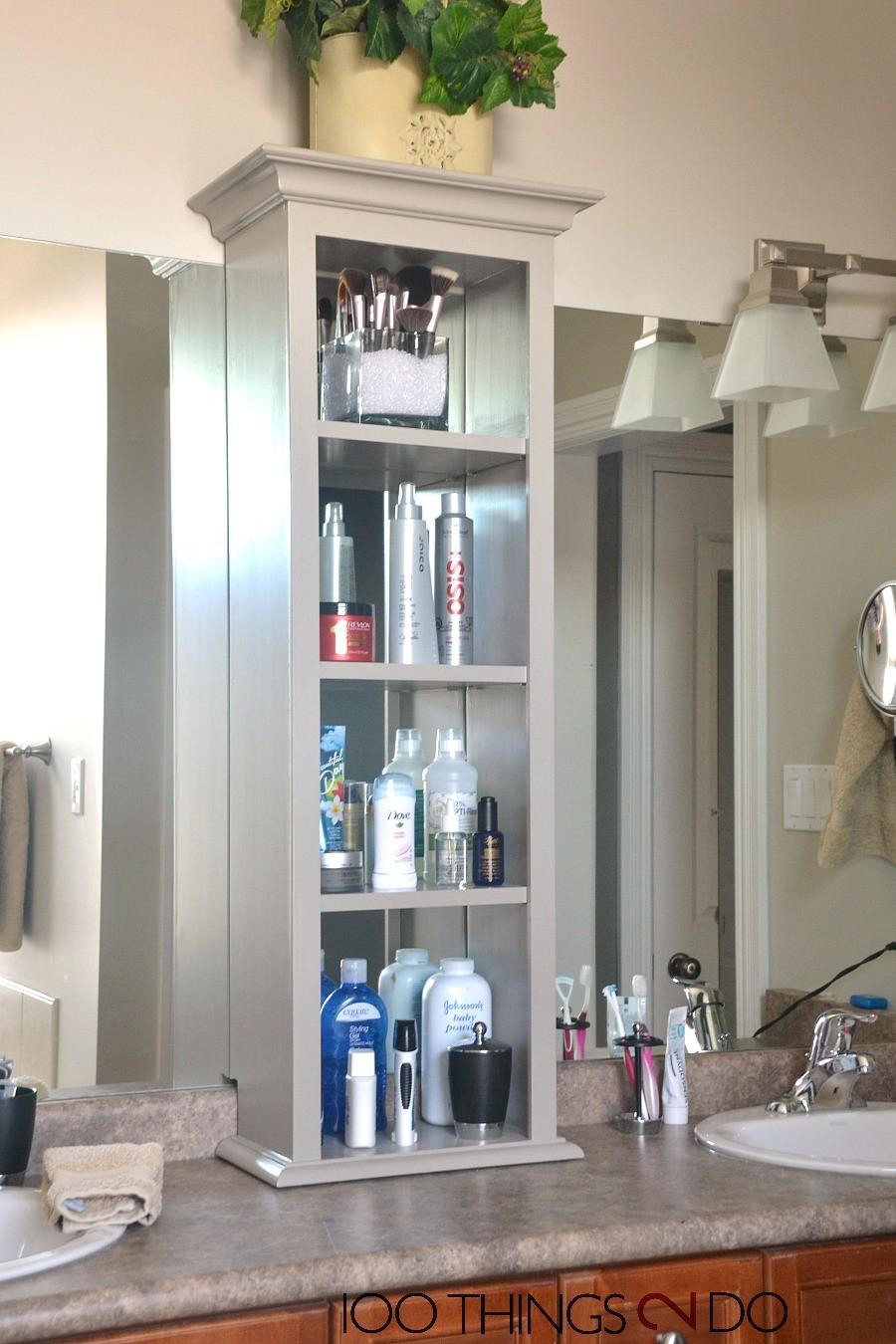 countertop bathroom tower cabinet  bathroom vanity storage, bathroom storage tower - countertop bathroom tower cabinet