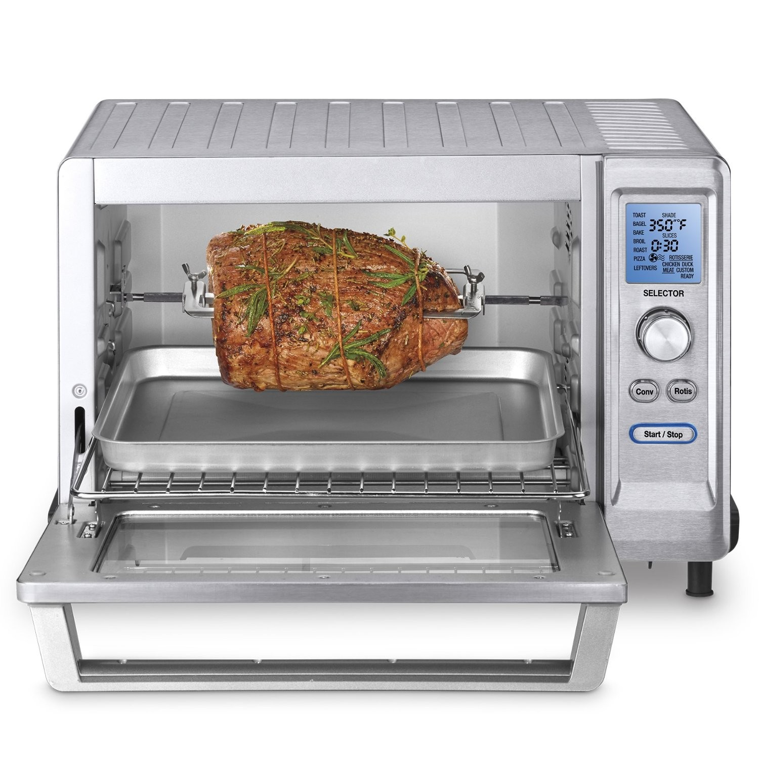 countertop convection oven how to use  Cuisinart TOB-200 Rotisserie Convection Toaster Oven Review - countertop convection oven how to use