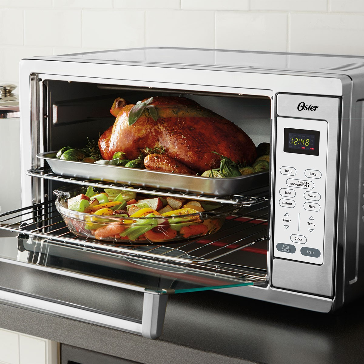 countertop convection oven how to use  Oster® Designed for Life Extra-Large Convection Toaster ..
