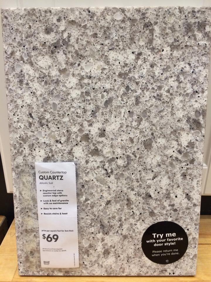 ikea countertop quartz colors  Quartz Kitchen countertop from IKEA. | Renovation Ideas ..