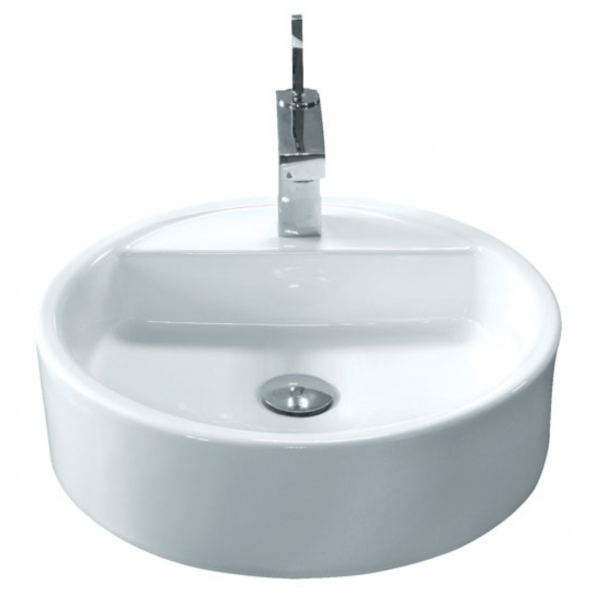 bathroom countertop height with vessel sink  Round Porcelain Ceramic Single Hole Countertop Bathroom ..