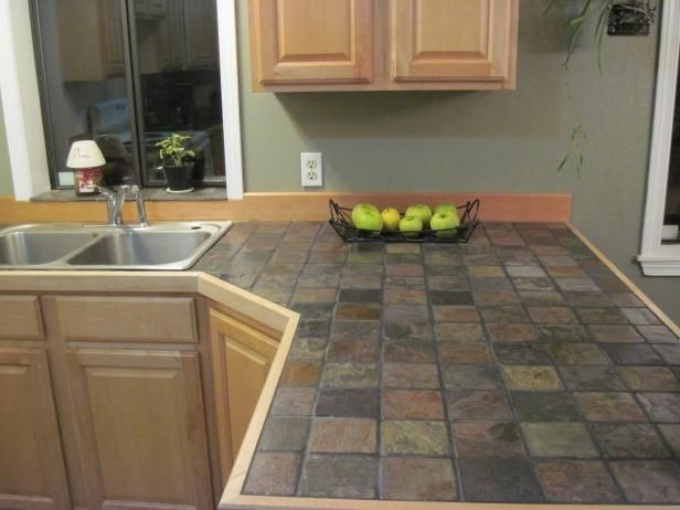 countertops with tile  18 Kitchen Countertop Options and Ideas for 2020 - countertops with tile