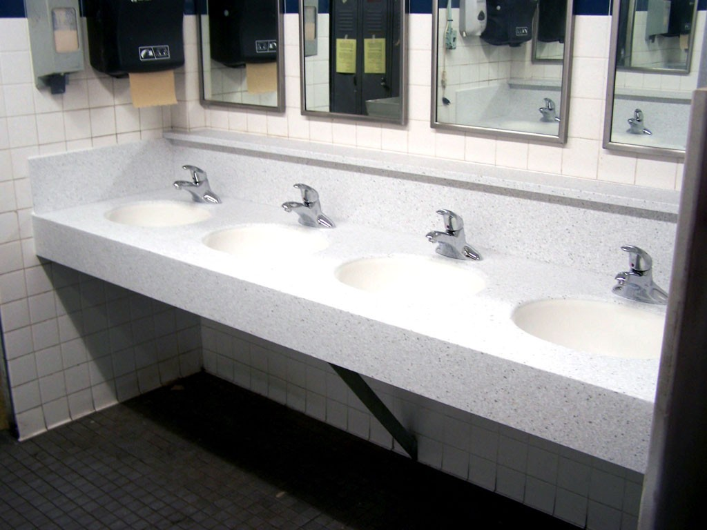 corian countertop bathroom sinks  Corian - Prestige Marble & Granite Inc