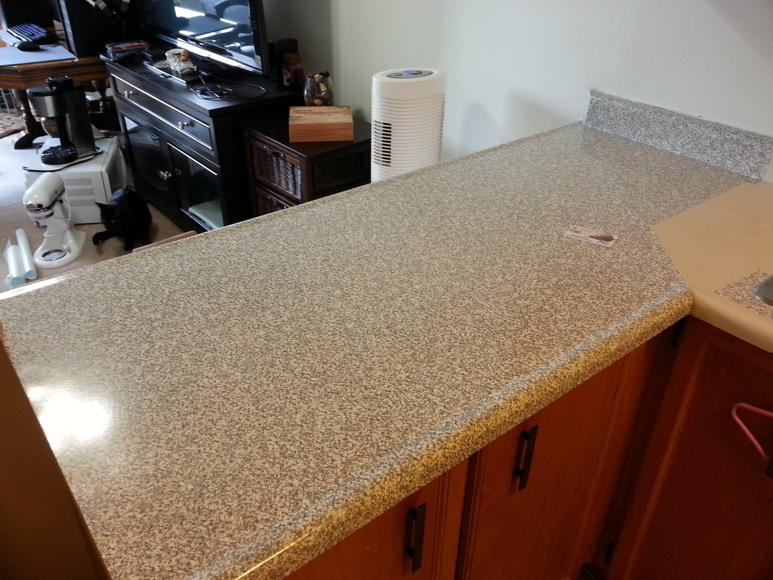 countertop cover paper home depot  Re cover old countertops with Con-Tact Papers!   newlywed ..