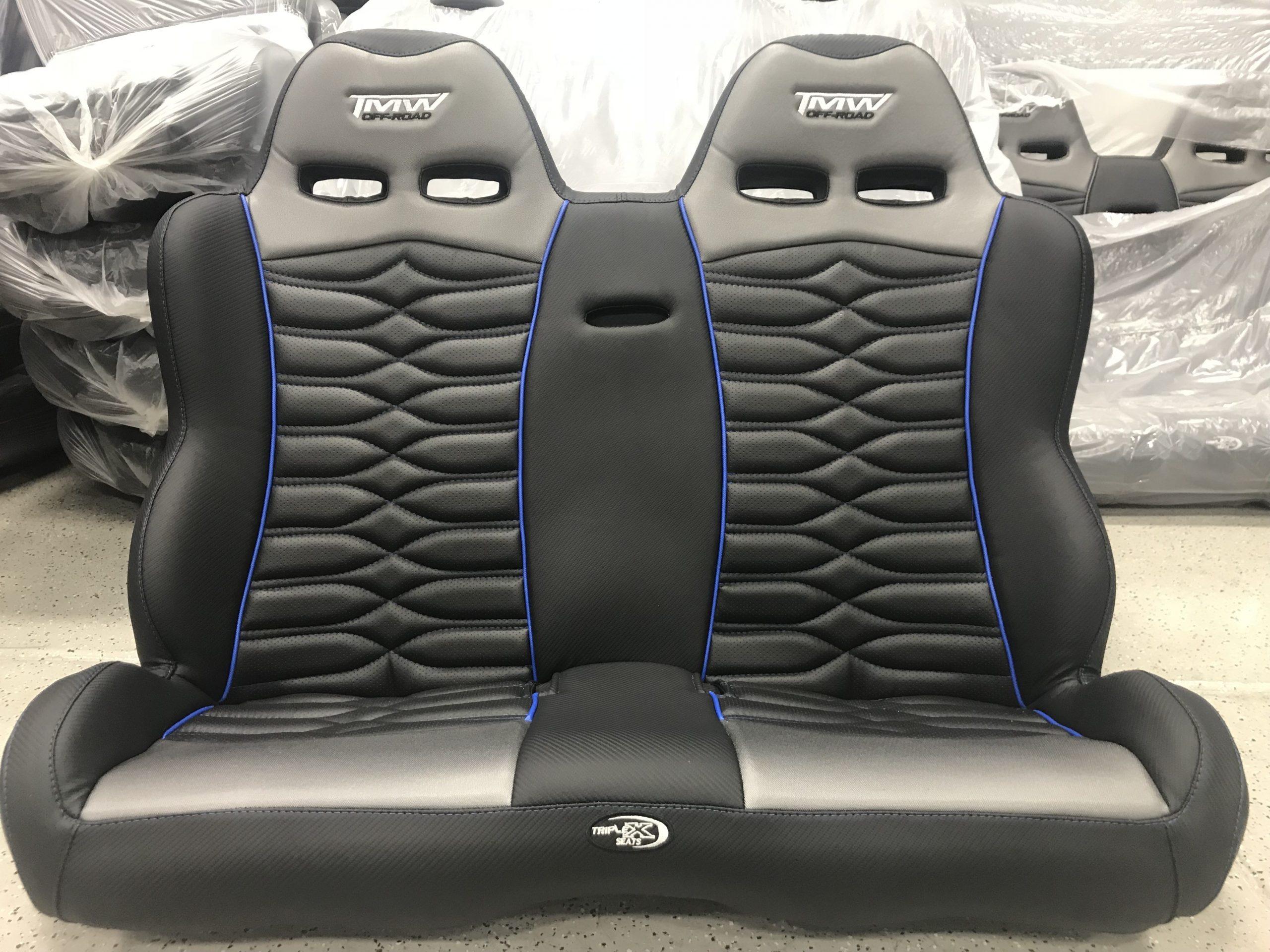 triple x seats  RZR Black Widow 5 Bucket Seats-Triple X - triple x seats