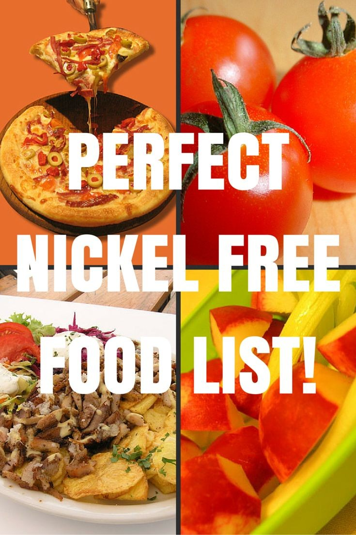 nickel free diet  29 best Nickel Free Diet images on Pinterest   Food ..
