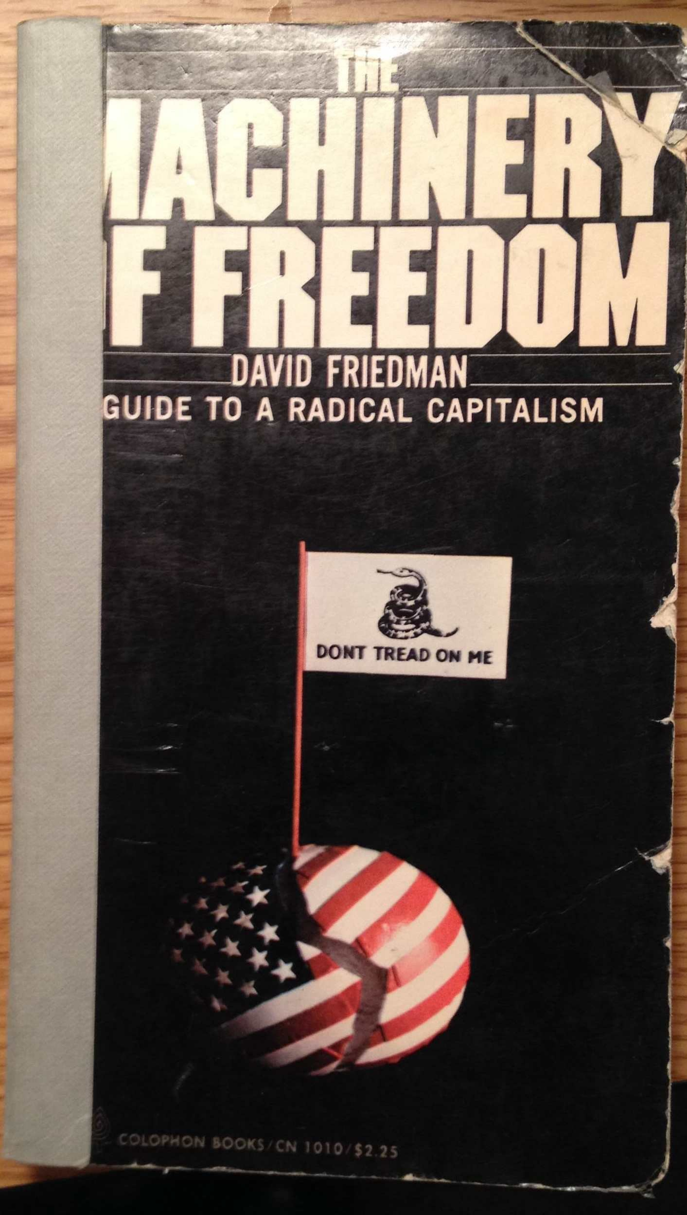 machinery of freedom  Cover contest for Machinery of Freedom | Brian T