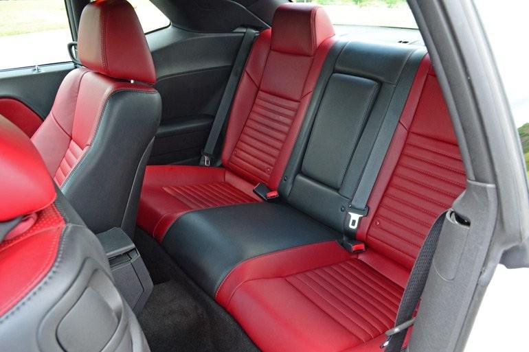 dodge challenger back seat  2014 Dodge Challenger R/T Redline Quick Spin - dodge challenger back seat