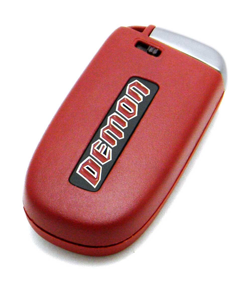 dodge demon key fob  2018 Dodge Challenger SRT Demon 5-Button Smart Key Fob ..