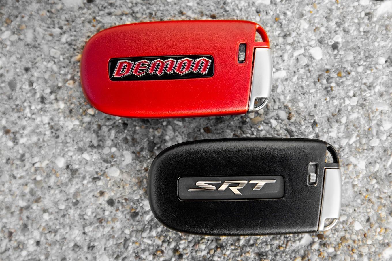 dodge demon key fob  2018 Dodge Challenger SRT Demon keyless remote fobs ..