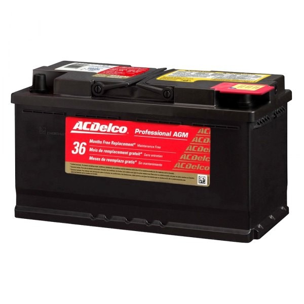 dodge charger battery  ACDelco® - Dodge Charger 2011-2014 Professional AGM Heavy ..