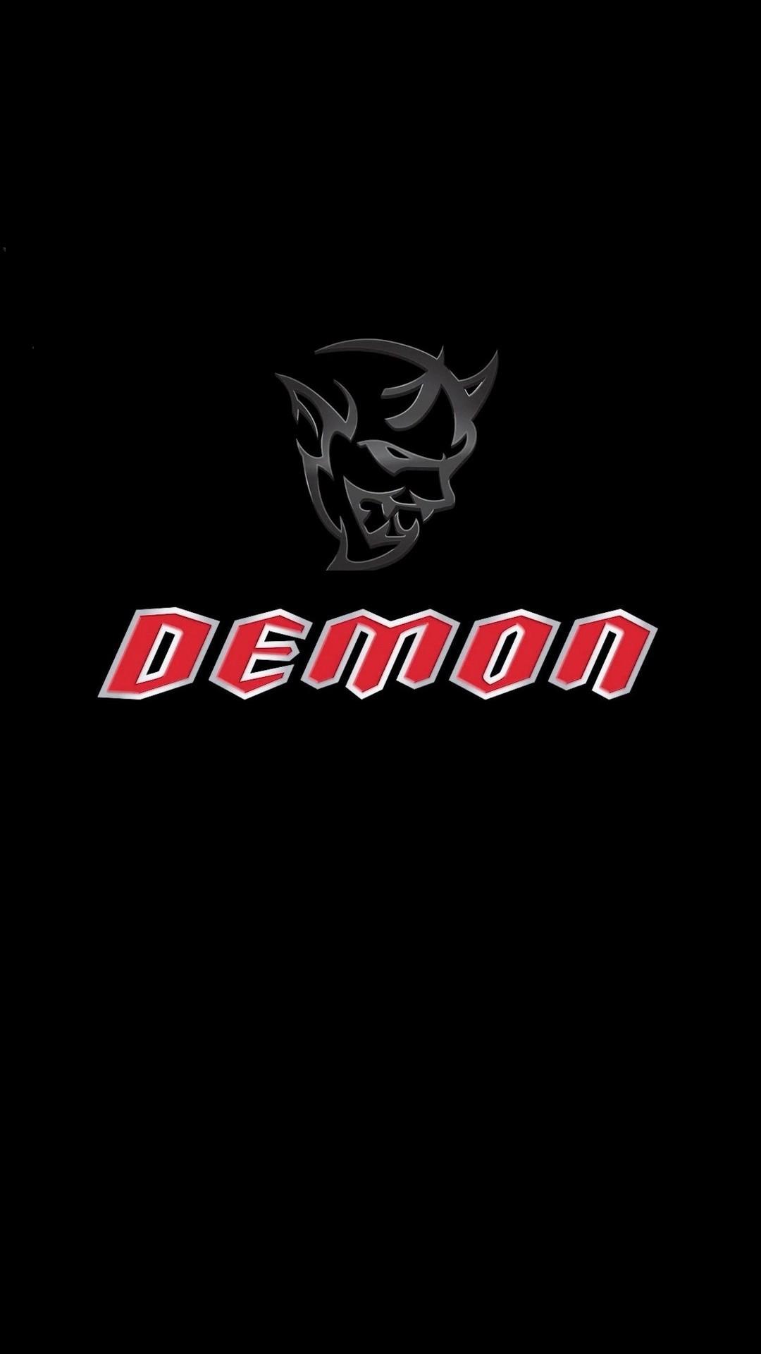 dodge demon logo wallpaper  Dodge Demon Logo iPhone Wallpaper | 2020 3D iPhone Wallpaper - dodge demon logo wallpaper