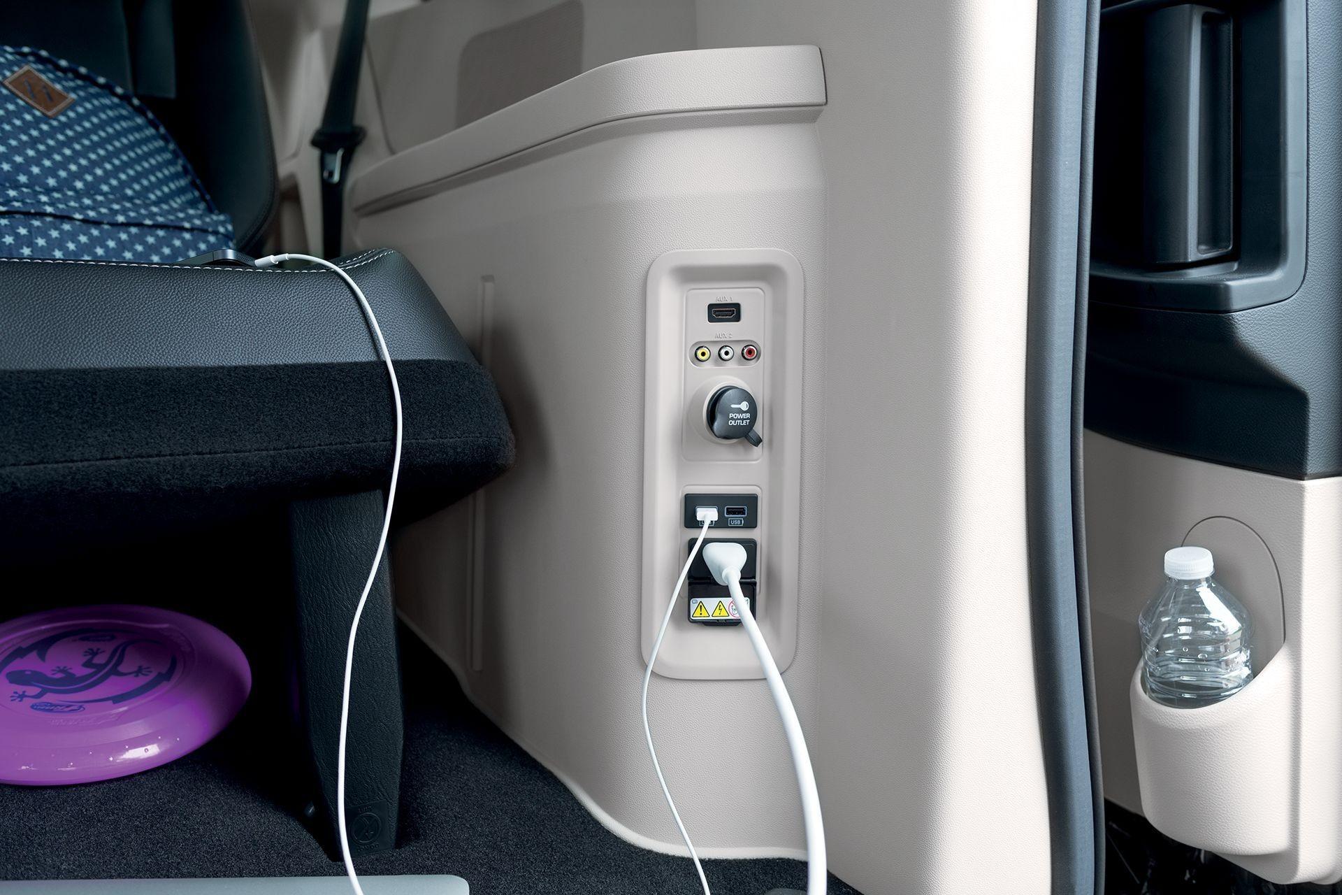 dodge caravan usb ports 2 Dodge Caravan Usb Port Release  Chrysler minivan, New cars  - dodge caravan usb ports