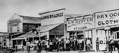 dodge city history Dodge City, Kansas – A Wicked Little Town – Legends of America - dodge city history